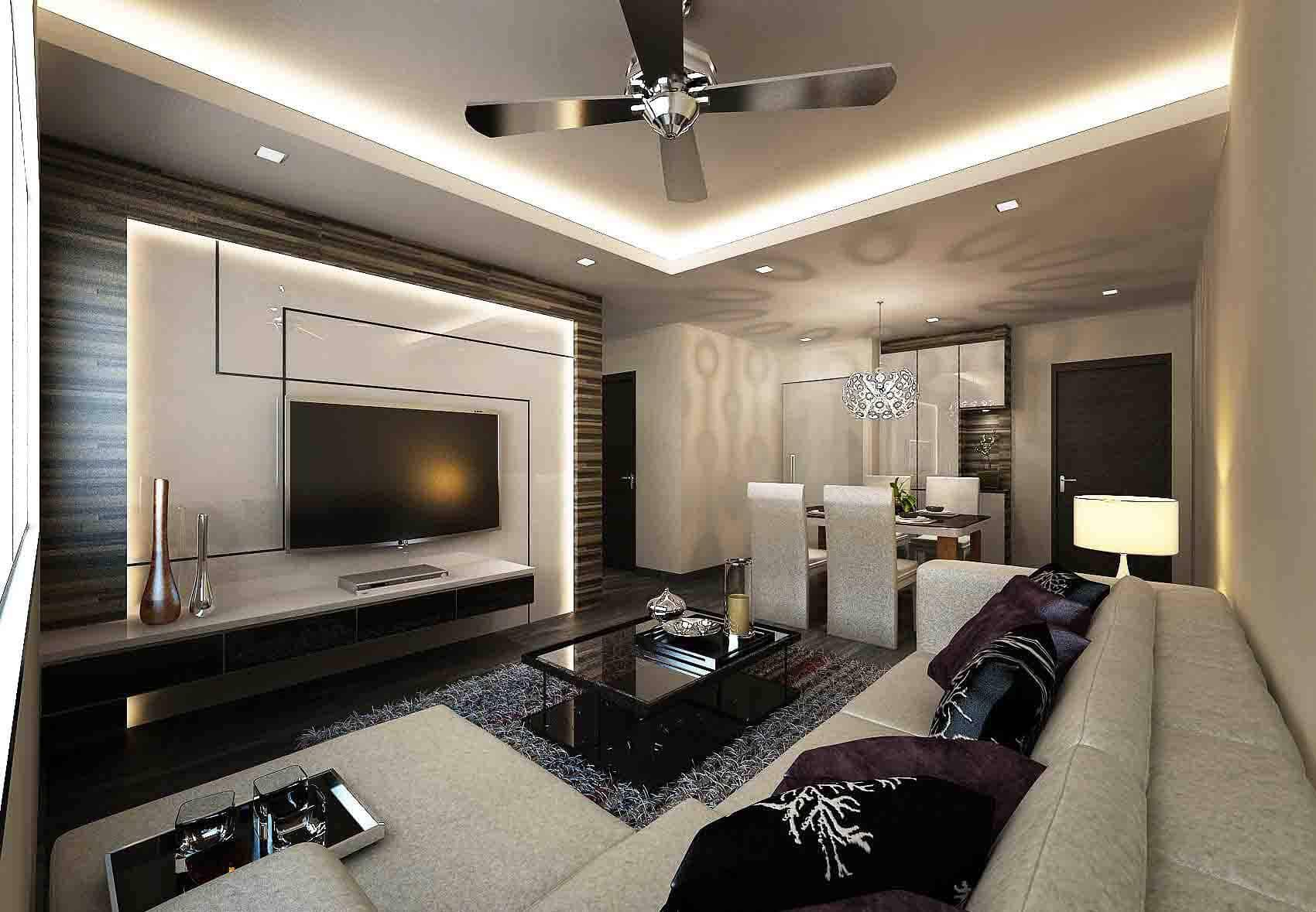 5 elements of a successful living room concept juz interior - Small living space design concept ...