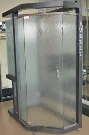 bubble glass shower