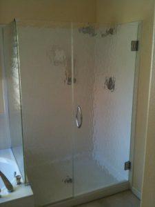 rain shower glass