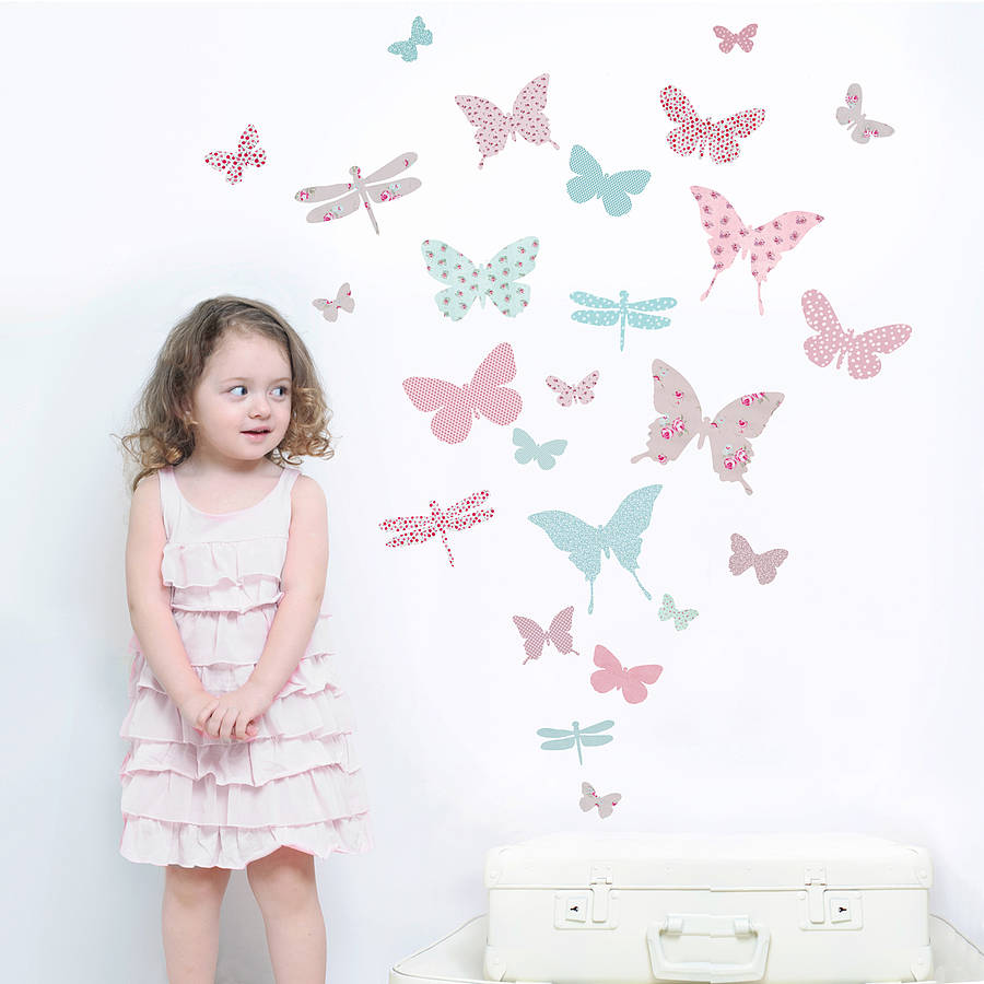 butterfly-wall-stickup